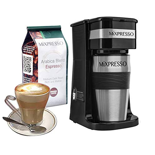 Ultimate 2-In-1 Single Cup Coffee Maker...