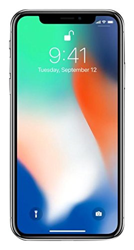 Apple iPhone X, Fully Unlocked 5.8', 64...