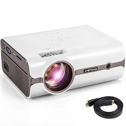 CRENOVA XPE496 Mini Projector, Full HD...
