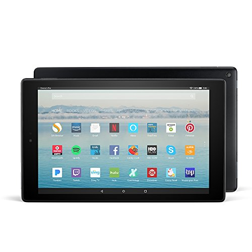 Fire HD 10 Tablet with Alexa Hands-Free,...