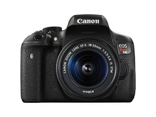 Canon EOS Rebel T6i Digital SLR with...