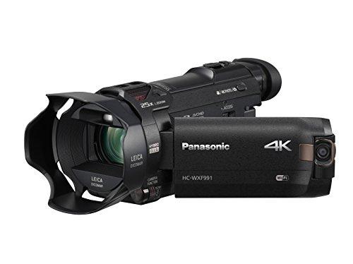 PANASONIC HC-WXF991K 4K Cinema-Like...