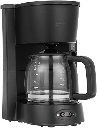 AmazonBasics 5-Cup Coffeemaker with...