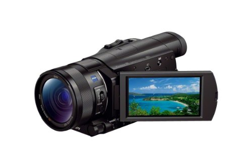 Sony FDR-AX100/B 4K Video Camera with...