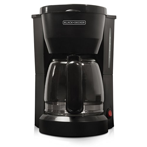 BLACK+DECKER 5-Cup Coffeemaker, Black,...
