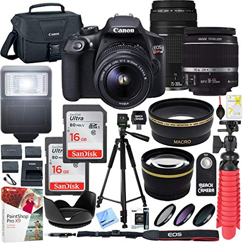 Canon T6 EOS Rebel DSLR Camera with EF-S...