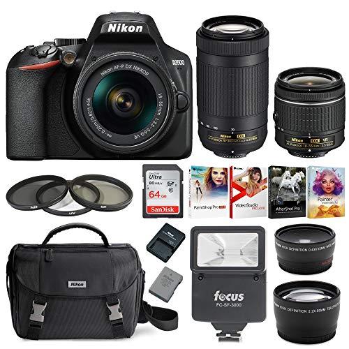 Nikon D3500 DSLR Camera with AF-P...