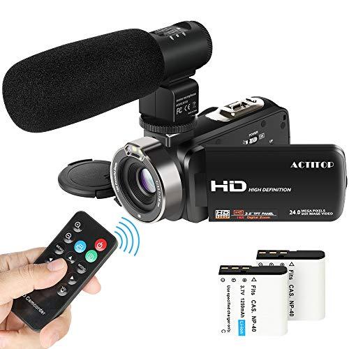 Video Camcorder,ACTITOP 1080P FHD...