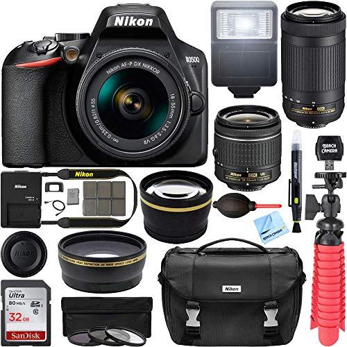 Nikon D3500 DSLR Camera w/AF-P DX...