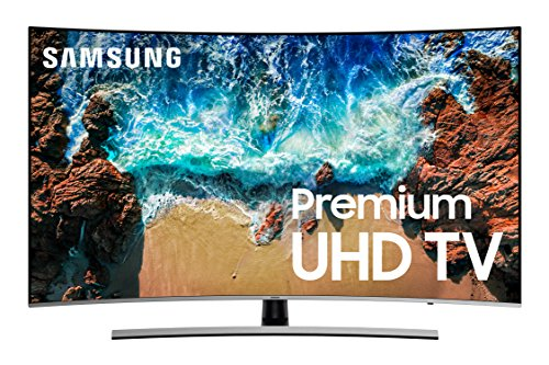 Samsung UN55NU8500FXZA Curved 55' 4K UHD...