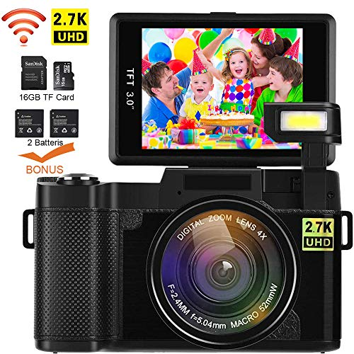 Video Camera Camcorder, DIWUER WiFi...