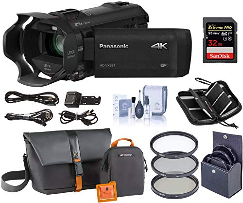 Panasonic HC-VX981K 4K Ultra HD...