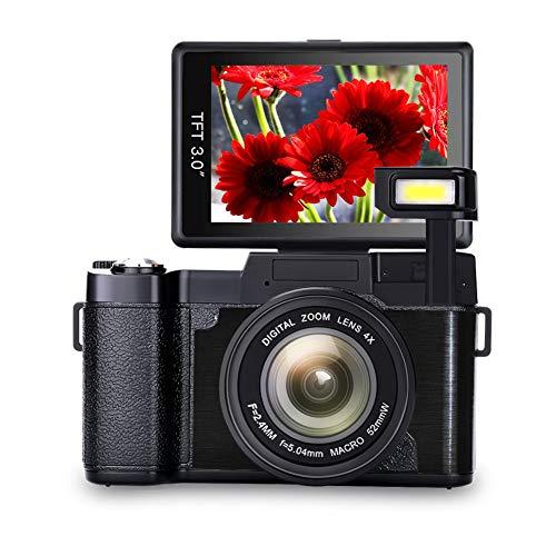 Vlogging Camera Full HD1080p 24.0MP...