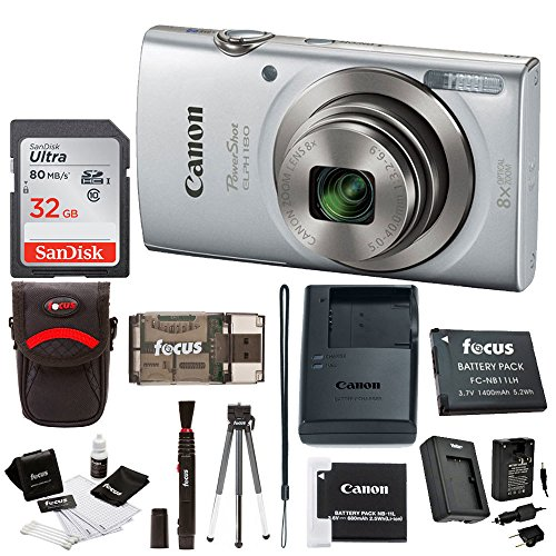Canon PowerShot ELPH 180 20 MP Digital...