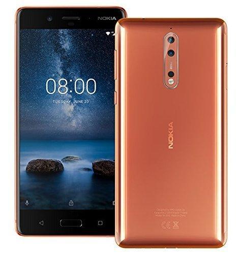 Nokia 8 TA-1052 64GB Polished Copper,...