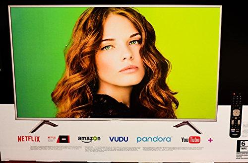 Sharp 55' Class 4K (2160P) Smart LED TV,...