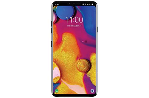 LG V40 ThinQ 64GB Aurora Black LMV405UA...
