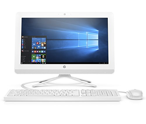 HP 20-inch All-in-One Computer, Intel...