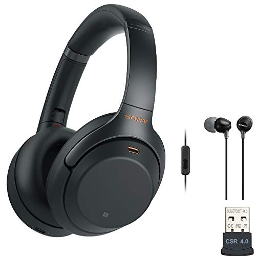 Sony WH-1000XM3 Wireless Noise-Canceling...