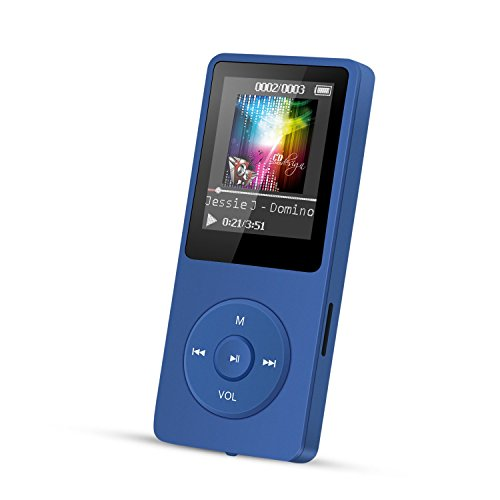 AGPTEK A02 8GB MP3 Player, 70 Hours...