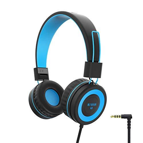 NIVAVA K8 Kids Headphones for Children...