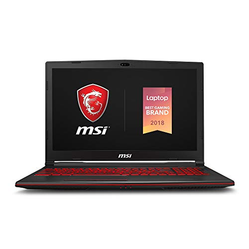 MSI GL63 8SC-059 15.6' Gaming Laptop,...
