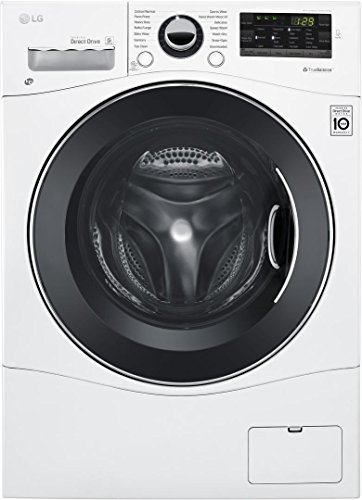 LG WM3488HW 24' Washer/Dryer Combo with...