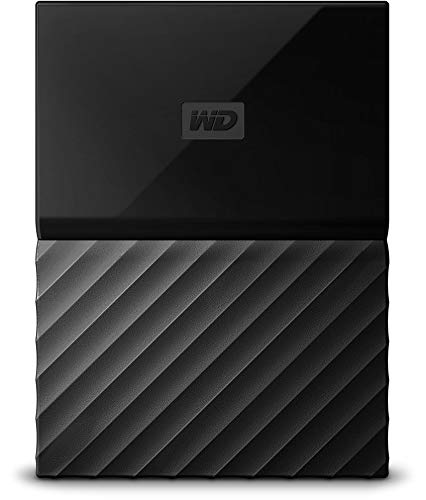 WD 4TB Black My Passport Portable...