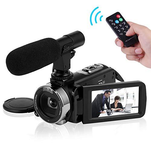 Video Camera Camcorder 4K Ultra HD...