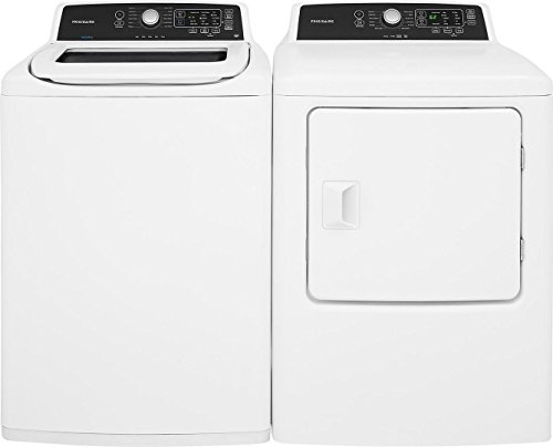 White Top Load Laundry Pair with...