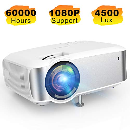 Projector, TOPVISION 1080P Supported...
