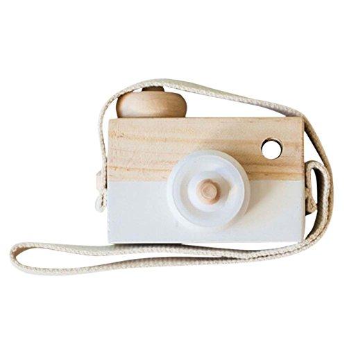 Liangxiang Wooden Mini Camera Toy Pillow...