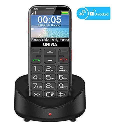 UNIWA Unlocked Cell Phone 3G Senior Cell...