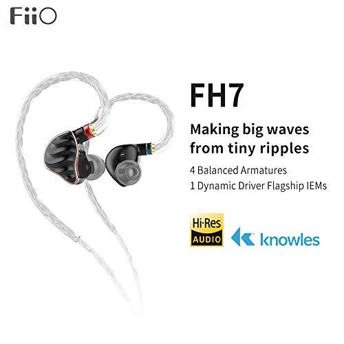 FiiO FH7 5-Drive (1DD + 4BAs) Hybrid...