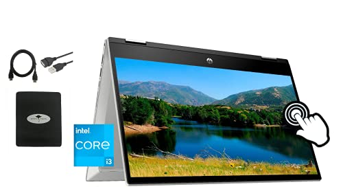 2021 Newest HP Pavilion x360 2in1 14'...