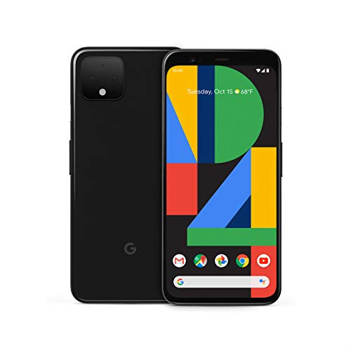 Google Pixel 4 - Just Black - 64GB -...