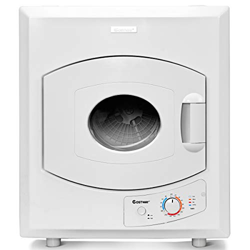 COSTWAY Electric Compact Laundry Dryer,...