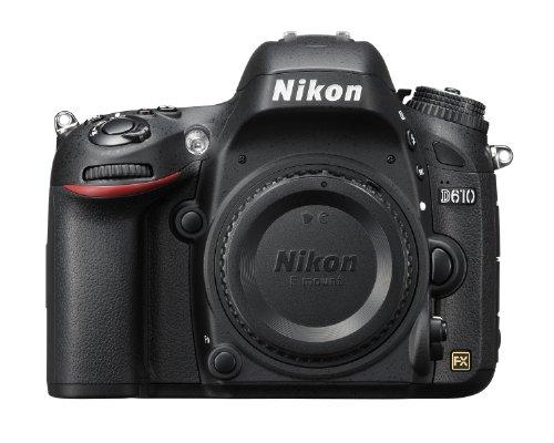 Nikon D610 24.3 MP CMOS FX-Format...