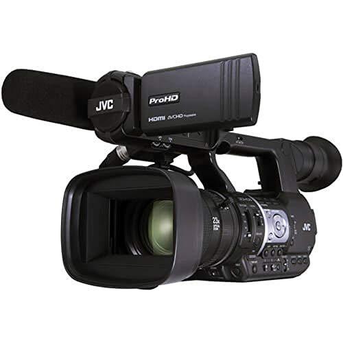 JVC GY-HM620 Camcorder, 3.5', Black