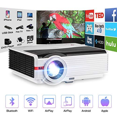 Video Projector WiFi Wireless 4200...