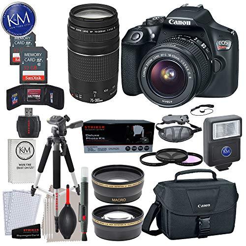 Canon EOS Rebel T6 DSLR Camera w/ EF-S...