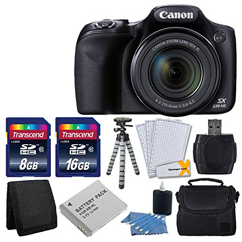 Canon PowerShot SX530 HS Digital Camera...