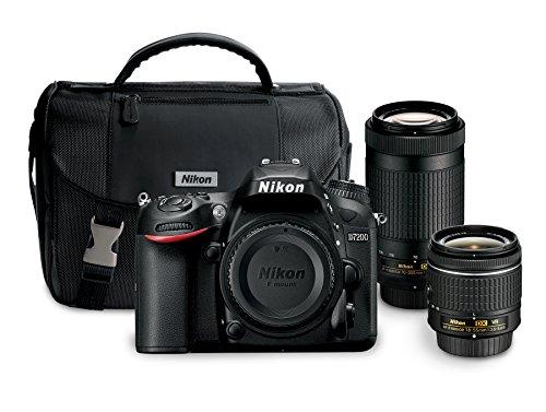 Nikon D7200 24.2 MP Dual Zoom Lens Kit...