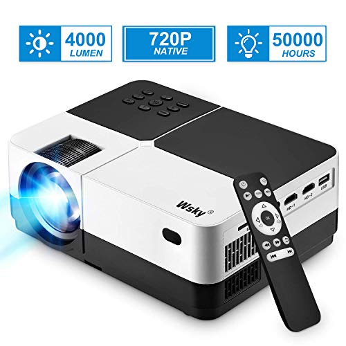 Projector, 1080P and 176'' Display...