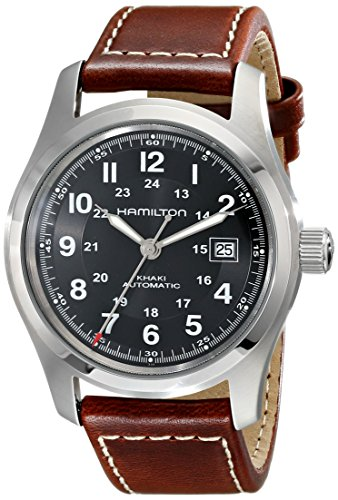 Hamilton Men's H70555533 Khaki Field...