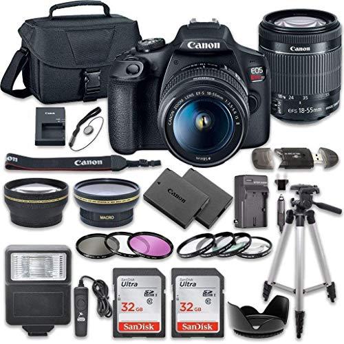 Canon EOS Rebel T7 DSLR Camera Bundle...
