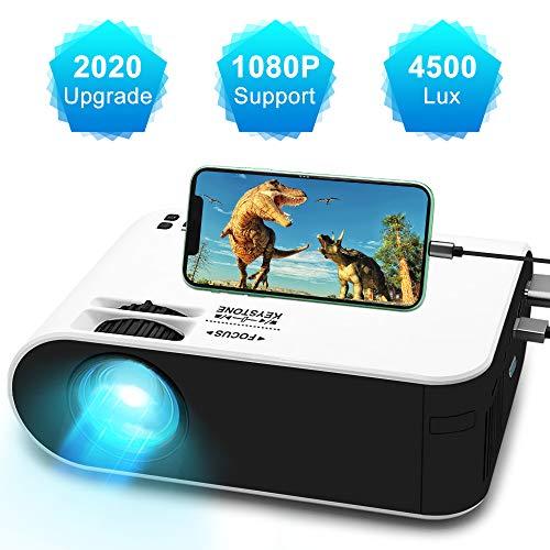 Mini Movie Projector,WayGoal Portable HD...