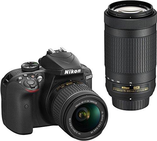 Nikon D3400 DSLR Camera with AF-P DX...