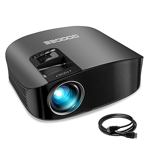 Projector, GooDee Video Projector 200'...