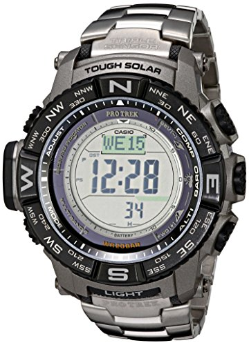 Casio Men's Pro Trek PRW-3500T-7CR Tough...